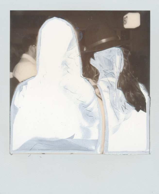 Mads Madison - Wasted Films - Manipulated Analog Polaroid